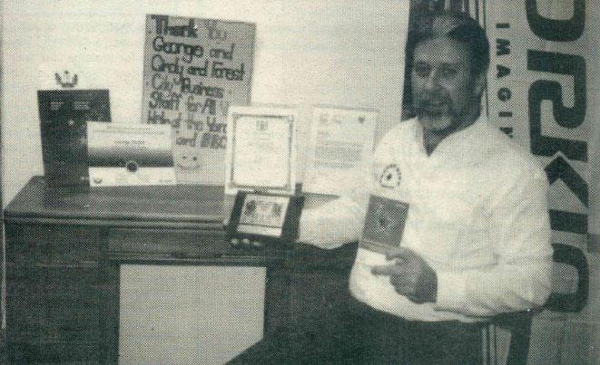 FCBE 2002 Ontario Service Award