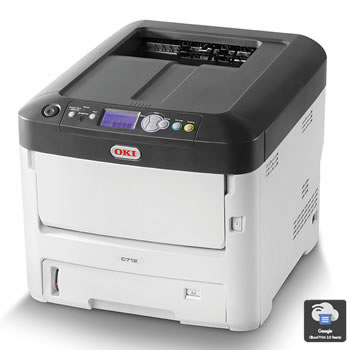 Oki Data C712dn Printer
